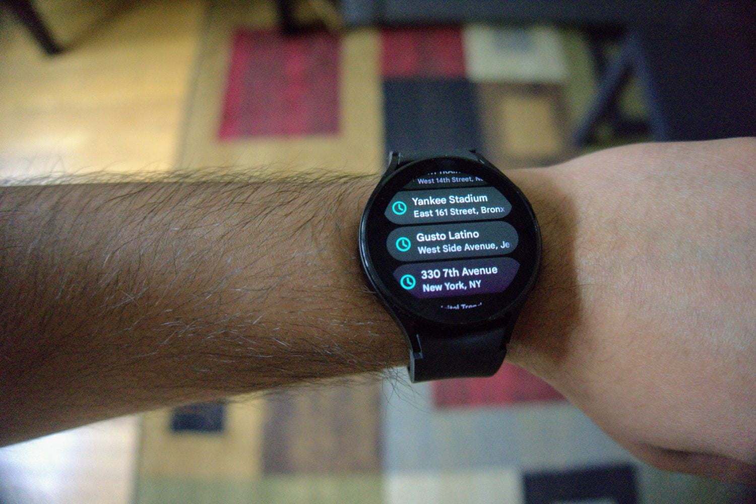 Watch 4 map directions.