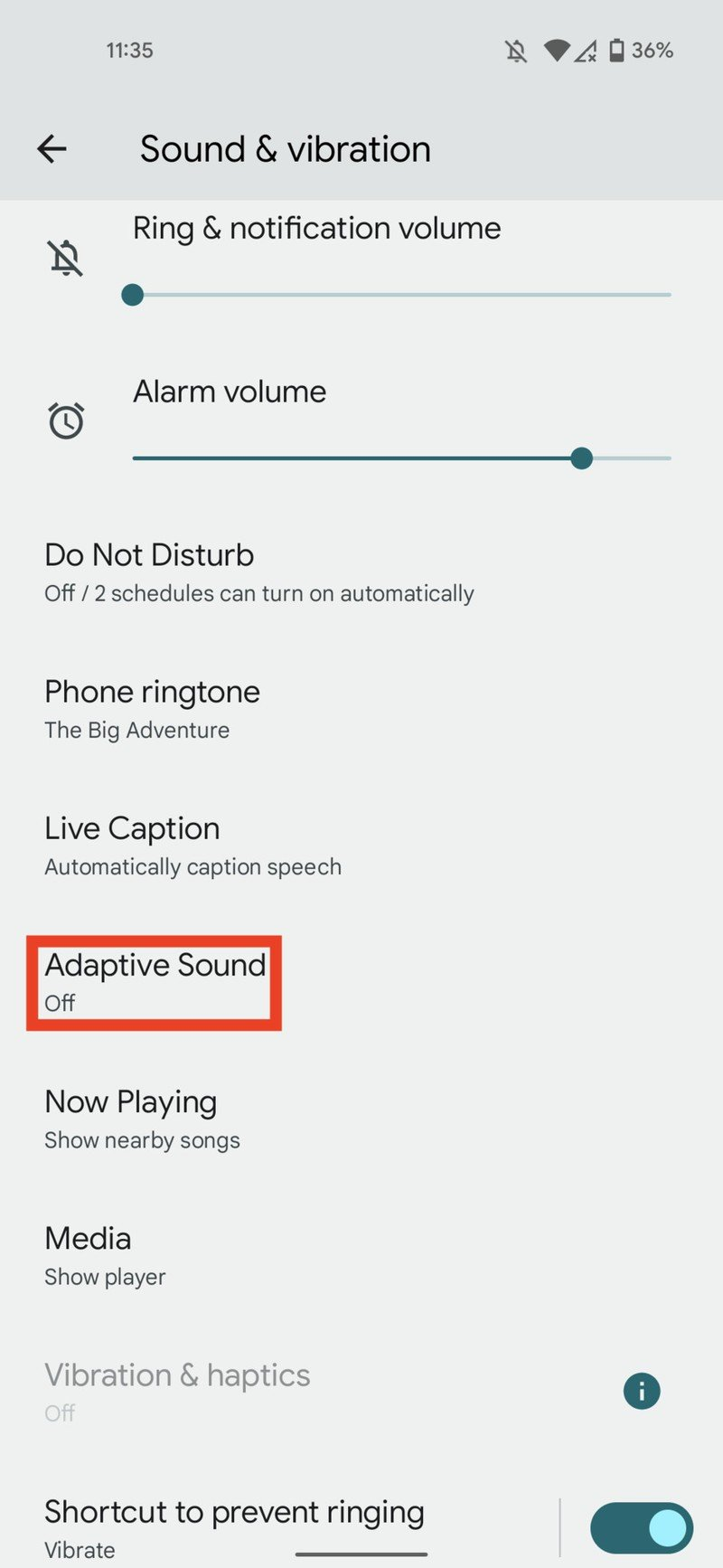 how-to-enable-adaptive-sound-google-pixe