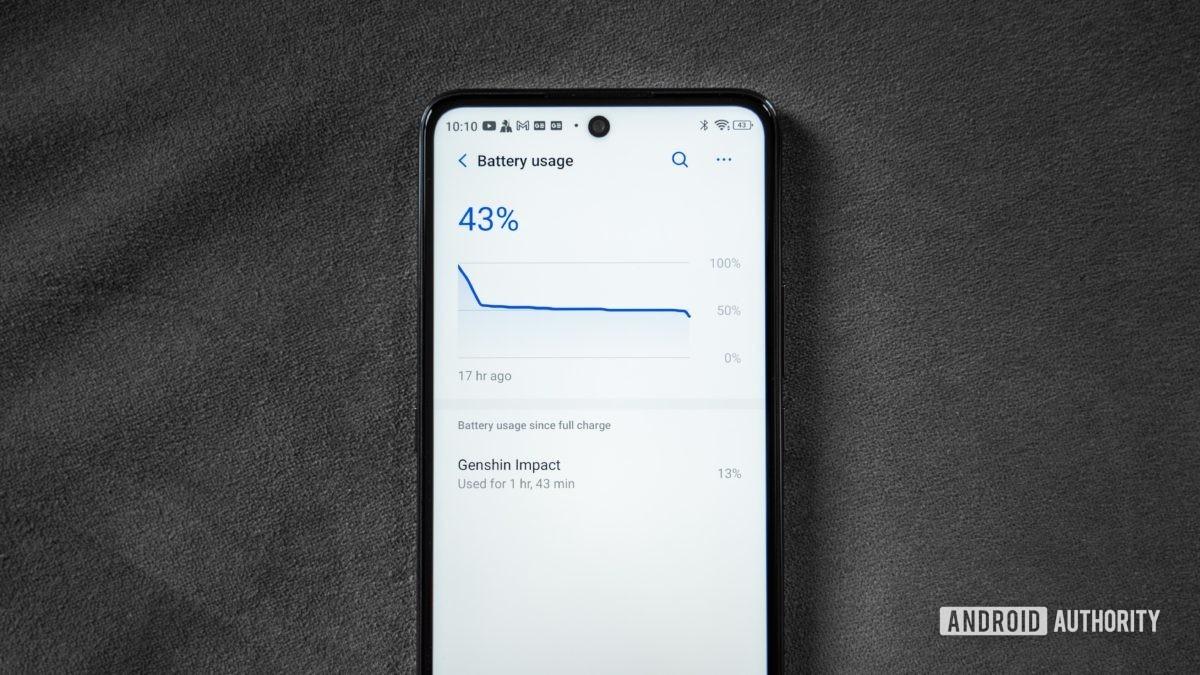 Battery life of Blu G91 Pro