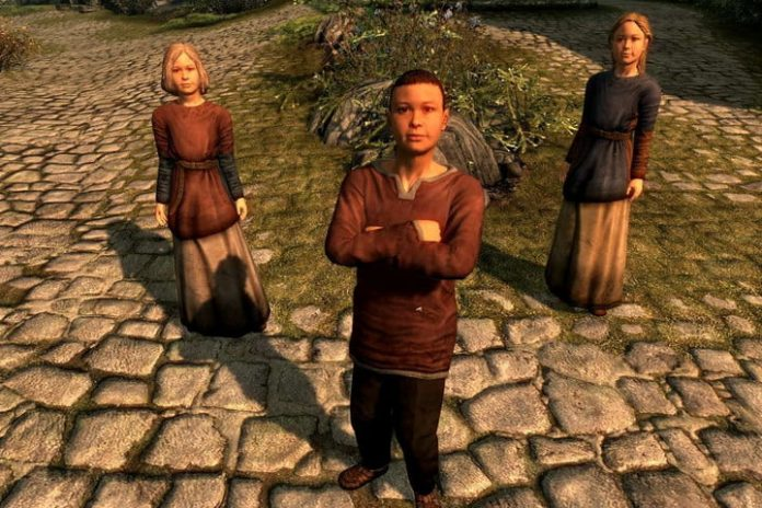 How to adopt children in Skyrim