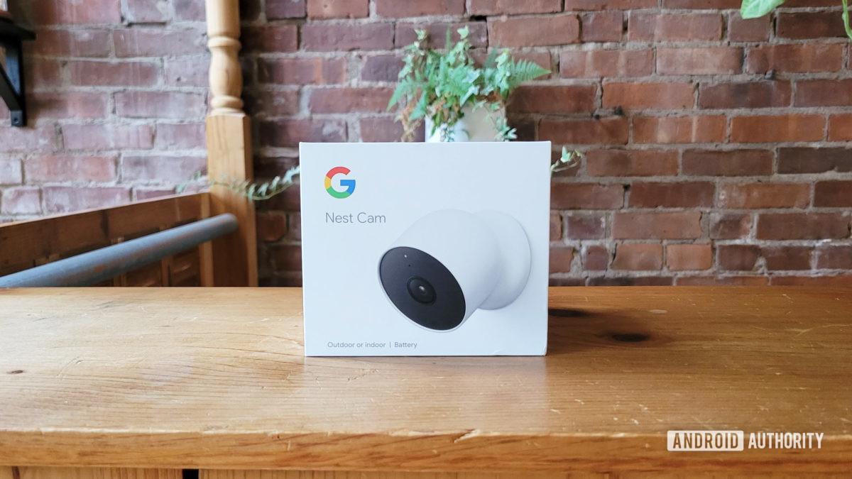Google Nest Cam Review 2021 Retail Box