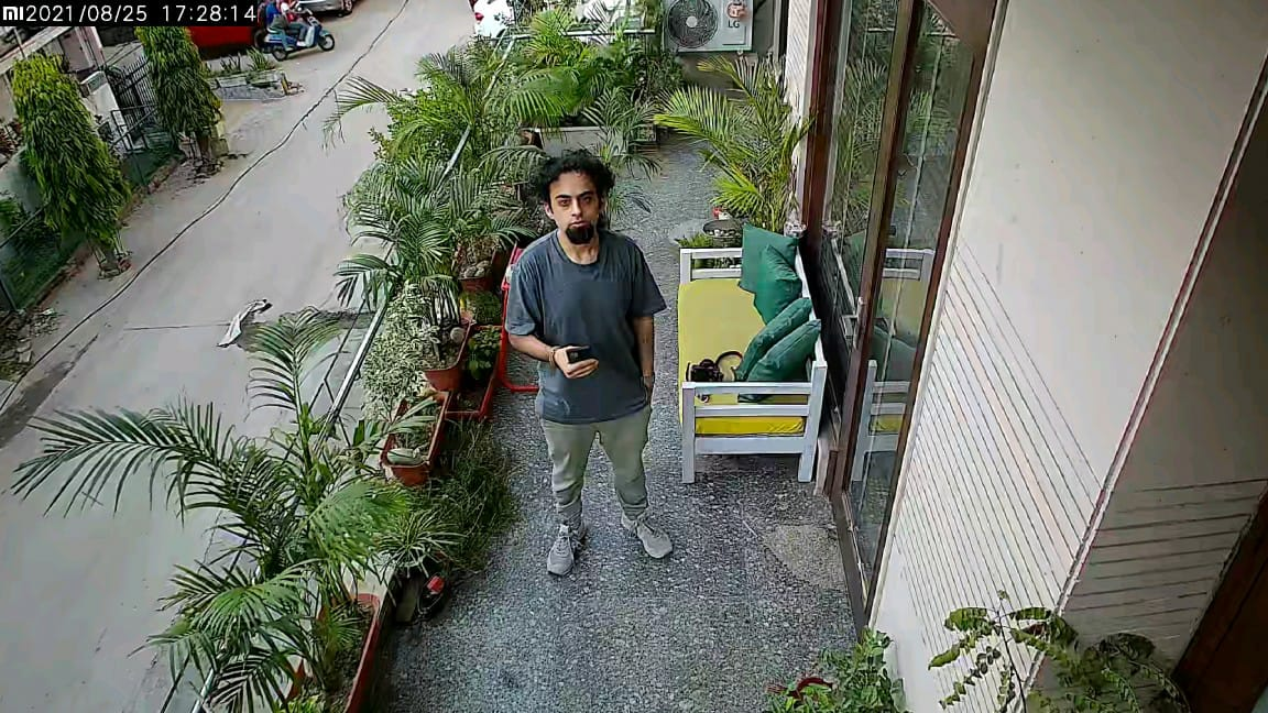 Mi Home security cam daylight image