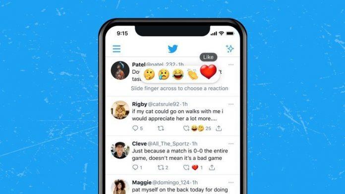 Twitter begins publicly testing Facebook-style Tweet Reactions
