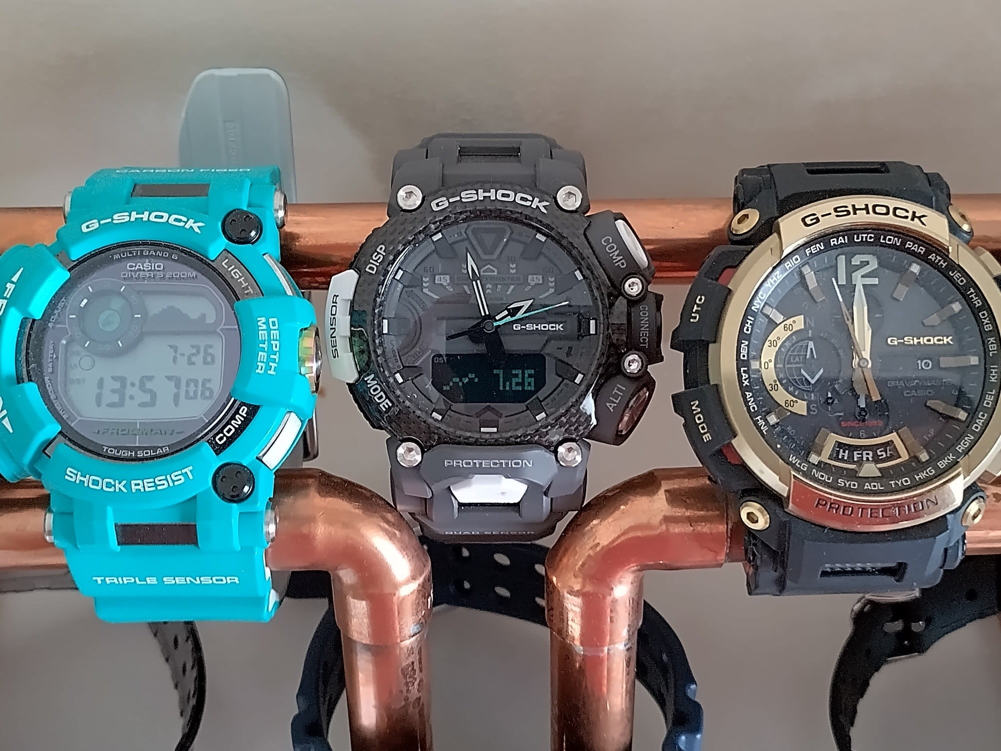 Photo of watches taken with the Nokia XR20.