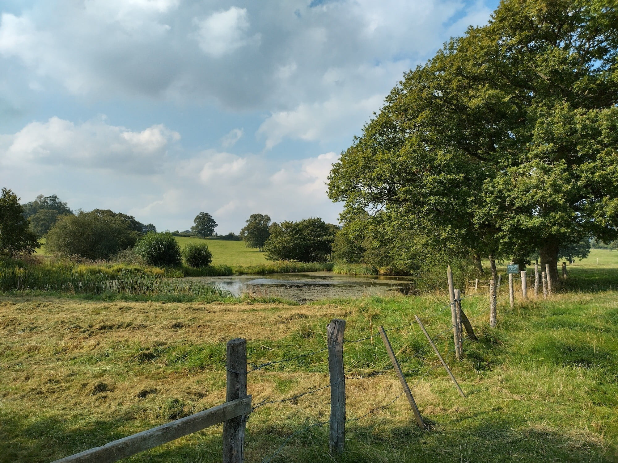 Country scene shot with the Nokia XR20.