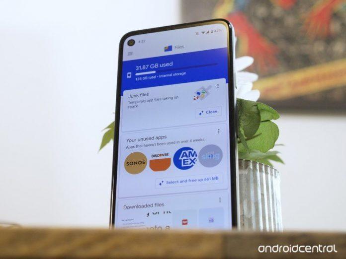 Google's Files app makes it easier to clear storage space in Pixel phones