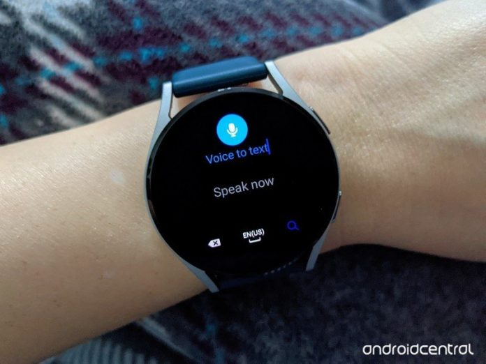 How to switch voice-to-text on the Samsung Galaxy Watch 4
