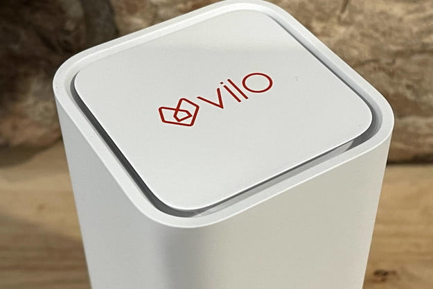 Vilo's square-shaped router.