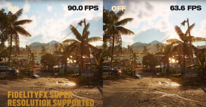 AMD Super Resolution could give Far Cry 6 a massive performance increase