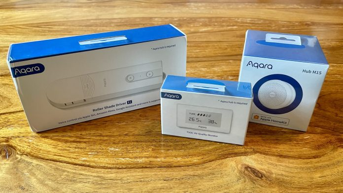 Review: Aqara's Roller Shade Driver E1, TVOC Air Quality Monitor, and Hub M1S Are Reliable and Well-Designed HomeKit Accessories
