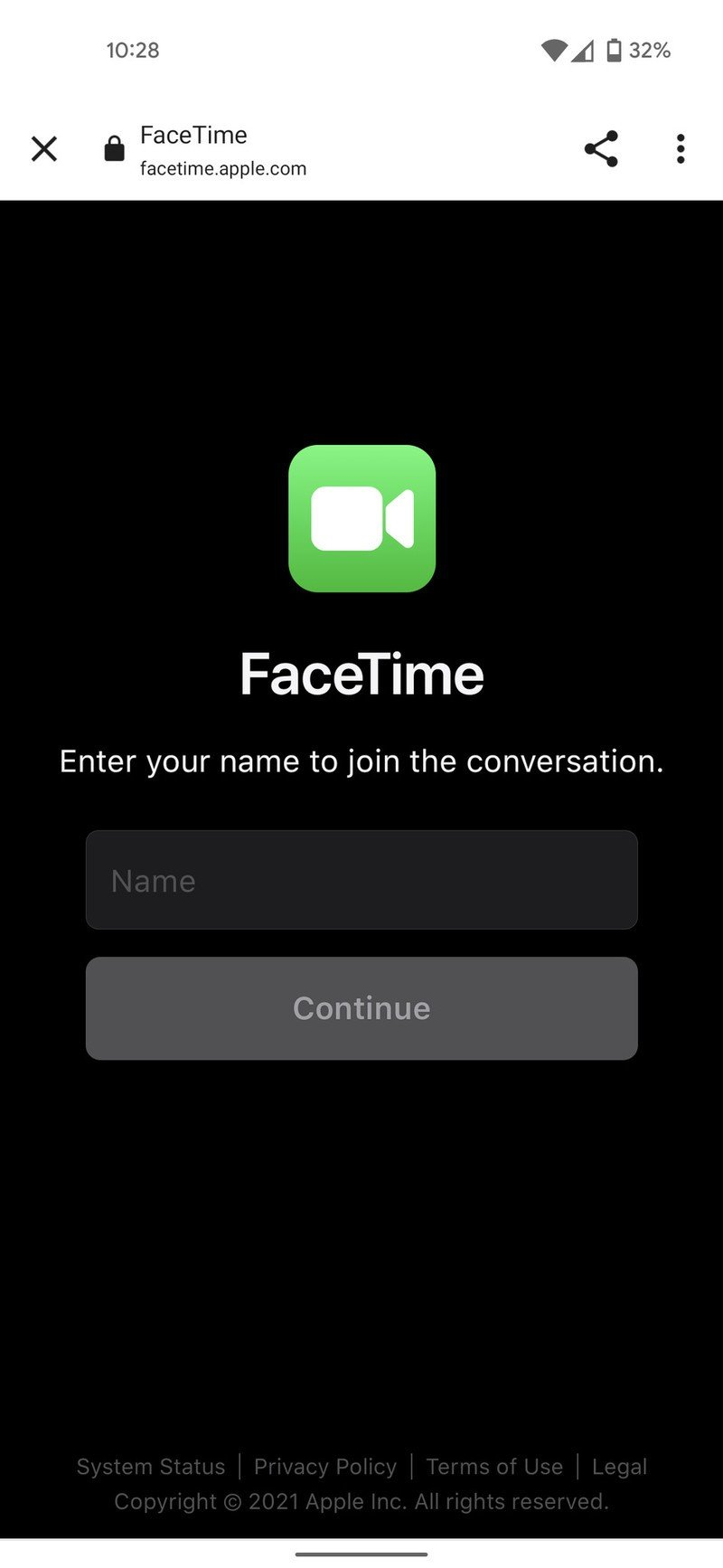 how-to-use-facetime-on-android-enter-nam
