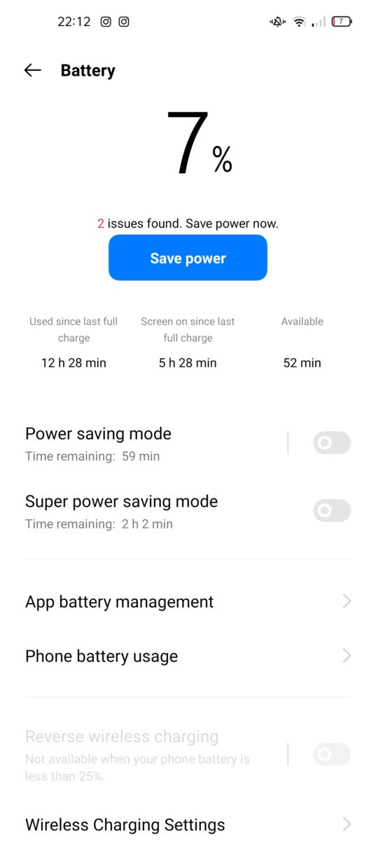 Oppo Find X3 Pro Screen-On Time