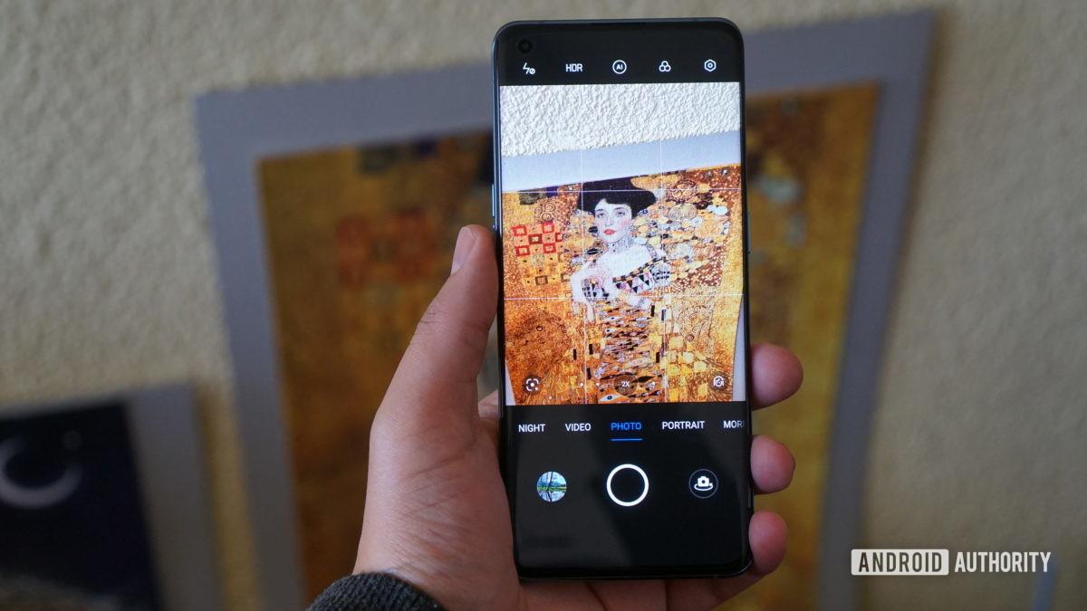 Oppo Find X3 Pro camera app 1