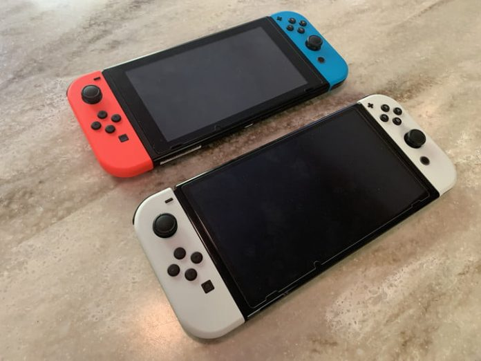 How to transfer data from Switch to Switch OLED