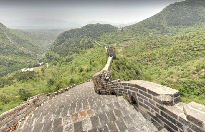 Walk the Great Wall of China in Google's latest virtual tour